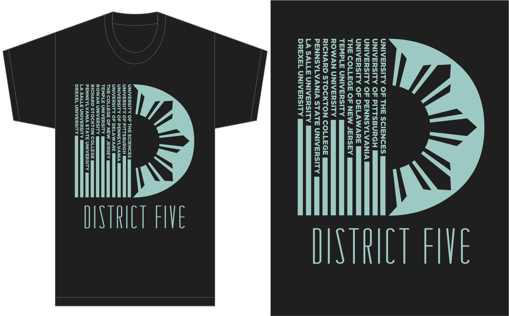 Shirt design of 2014 - District V Tshirt Design 2013 2014