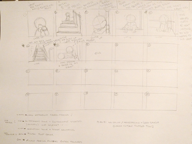 hungryBaby-storyboards
